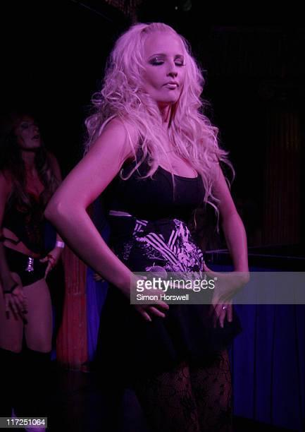 Michelle Marsh during Michelle Marsh Performs at the Cafe de Paris August 4 2006 at Café de Paris in London Great Britain