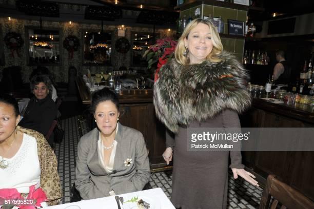 Michelle Marsh Michelle Patterson and Debbie Bancroft attend DEBBIE BANCROFT Hosts Luncheon Honoring MICHELLE PAIGE PATTERSON at 99 PARK AVENUE...