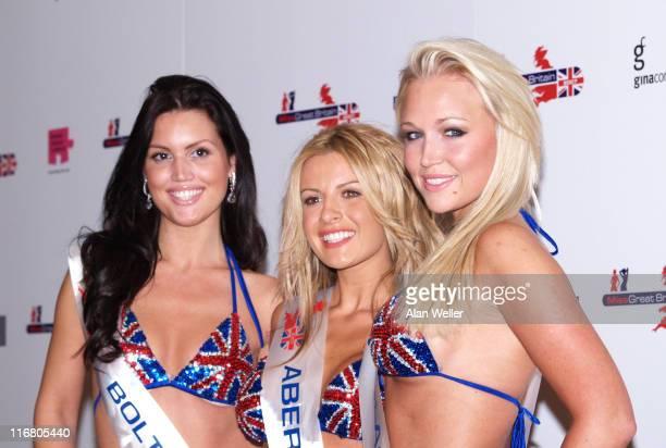 Michelle Marsh Miss Oldham Clair Evans Miss Aberystwyth Nicola Tappenden and Miss Croydon