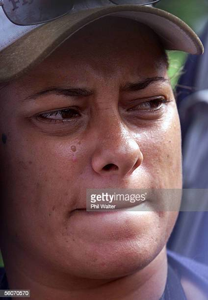 Michelle McConellWilson a freelance photojournalist sheds tears of joy after managing to flee the grounds of Parliament after a harrowing night where...