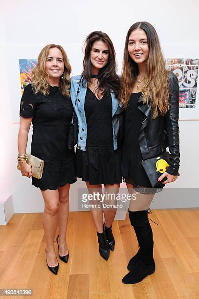 Michelle McCool Annabella Murphy and Savannah Murphy attend Gus Al Party Launching #yes Collection including Jeff Koons Limited Edition Collaboration...