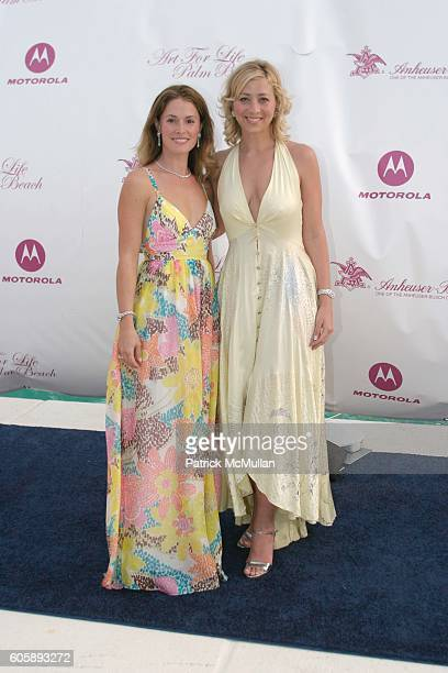 Michelle Miller and Jordann Miller attend Russell and Kimora Lee Simmons and the Rush Philanthropic Arts Foundation Present the 2nd Annual Art for...