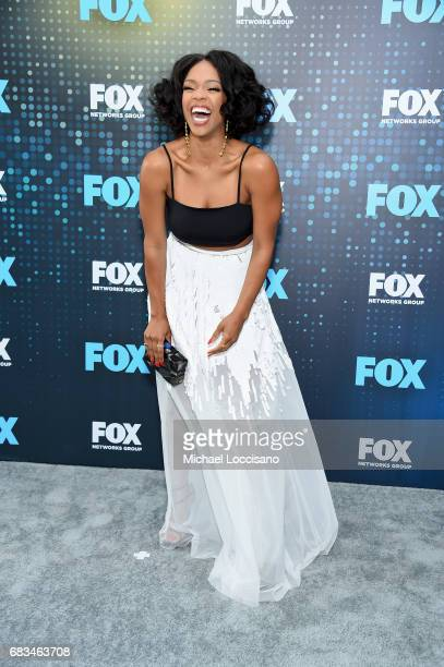 Michelle Mitchenor attends the 2017 FOX Upfront at Wollman Rink Central Park on May 15 2017 in New York City