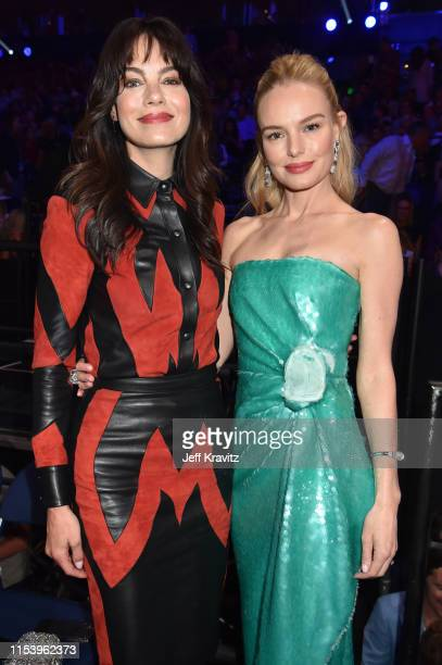 Michelle Monaghan and Kate Bosworth attend the 2019 CMT Music Awards at Bridgestone Arena on June 05 2019 in Nashville Tennessee