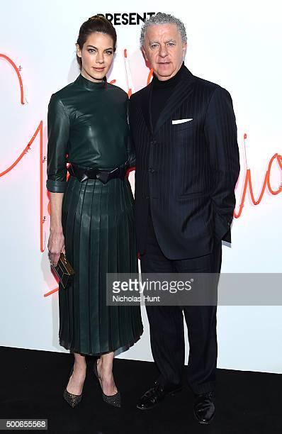 Michelle Monaghan and Luciano Bertinelli attend Ferragamo Presents Gancio Studios Celebrating 100 Years In Hollywood at Gancio Studios on December 8...