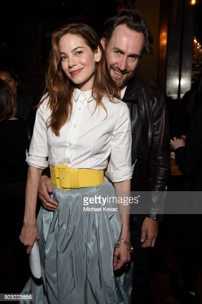 Michelle Monaghan and Peter White attend the after party for the Los Angeles Special Screening of 'The Vanishing of Sidney Hall' on February 22 2018...
