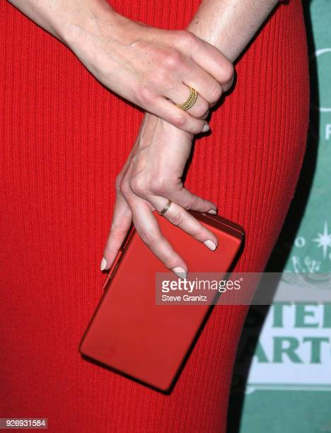 Michelle Monaghan arrives at the 11th Annual Celebration Of The 2018 Female Oscar Nominees Presented By Women In Film at Crustacean on March 2, 2018...