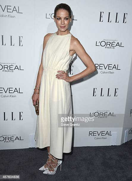 Michelle Monaghan arrives at the 2014 ELLE Women In Hollywood Awards at Four Seasons Hotel Los Angeles at Beverly Hills on October 20 2014 in Beverly...