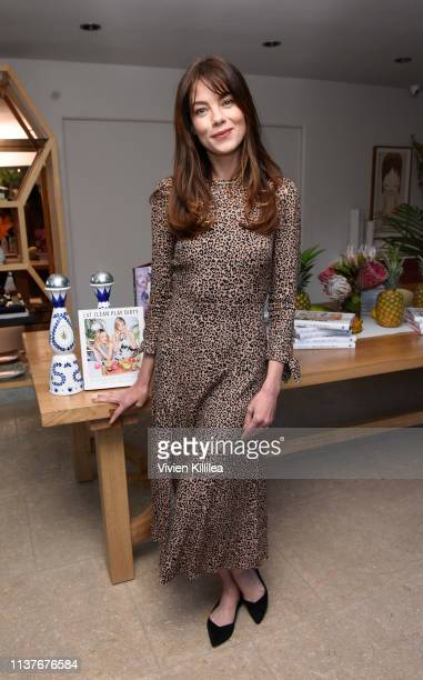 Michelle Monaghan attends Sakara Life Rothy's Celebrate Eat Clean Play Dirty Cookbook Launch on April 16 2019 in Beverly Hills California