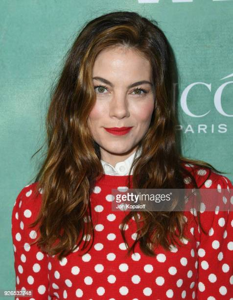 Michelle Monaghan attends the 11th annual celebration of the 2018 female Oscar nominees presented by Women in Film at Crustacean on March 2 2018 in...