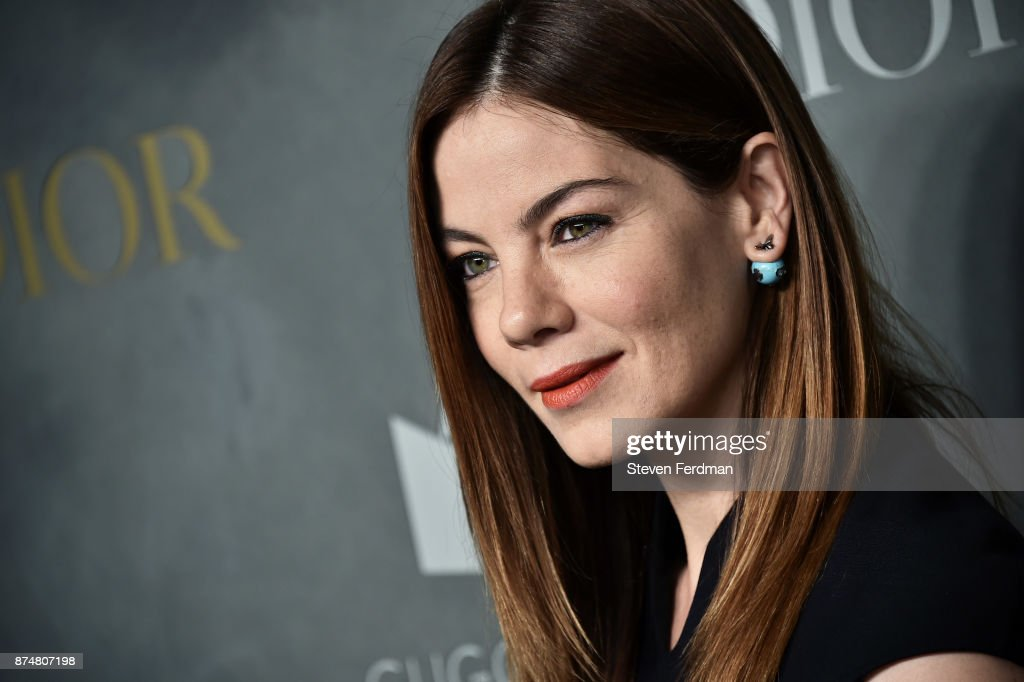 Michelle Monaghan attends the 2017 Guggenheim International Gala Pre-Party made possible by Dior on November 15, 2017 in New York City.