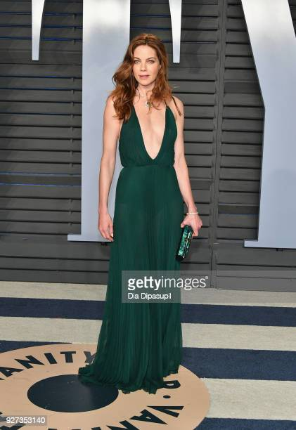 Michelle Monaghan attends the 2018 Vanity Fair Oscar Party hosted by Radhika Jones at Wallis Annenberg Center for the Performing Arts on March 4 2018...