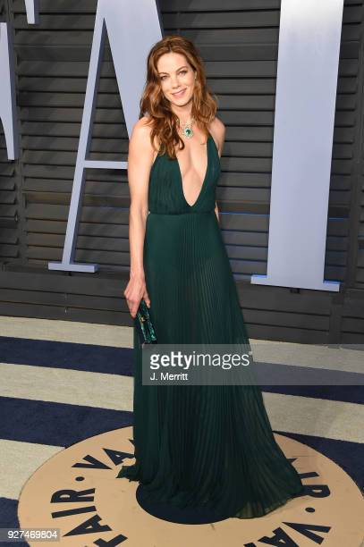 Michelle Monaghan attends the 2018 Vanity Fair Oscar Party hosted by Radhika Jones at the Wallis Annenberg Center for the Performing Arts on March 4...