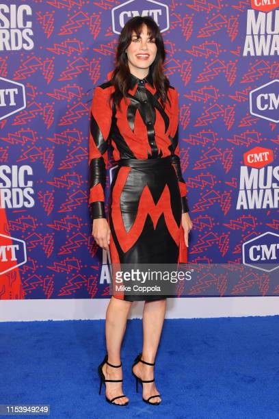 Michelle Monaghan attends the 2019 CMT Music Award at Bridgestone Arena on June 05 2019 in Nashville Tennessee