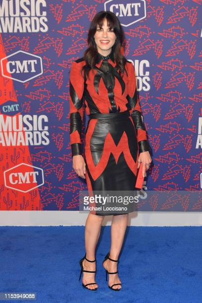 Michelle Monaghan attends the 2019 CMT Music Awards at Bridgestone Arena on June 05 2019 in Nashville Tennessee