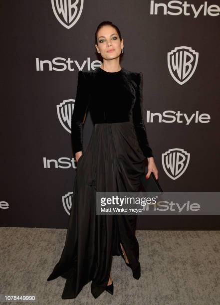 Michelle Monaghan attends the 2019 InStyle and Warner Bros 76th Annual Golden Globe Awards PostParty at The Beverly Hilton Hotel on January 6 2019 in...