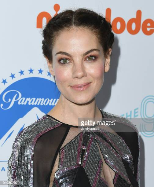 Michelle Monaghan attends the 9th Annual Thirst Gala at The Beverly Hilton Hotel on April 21 2018 in Beverly Hills California