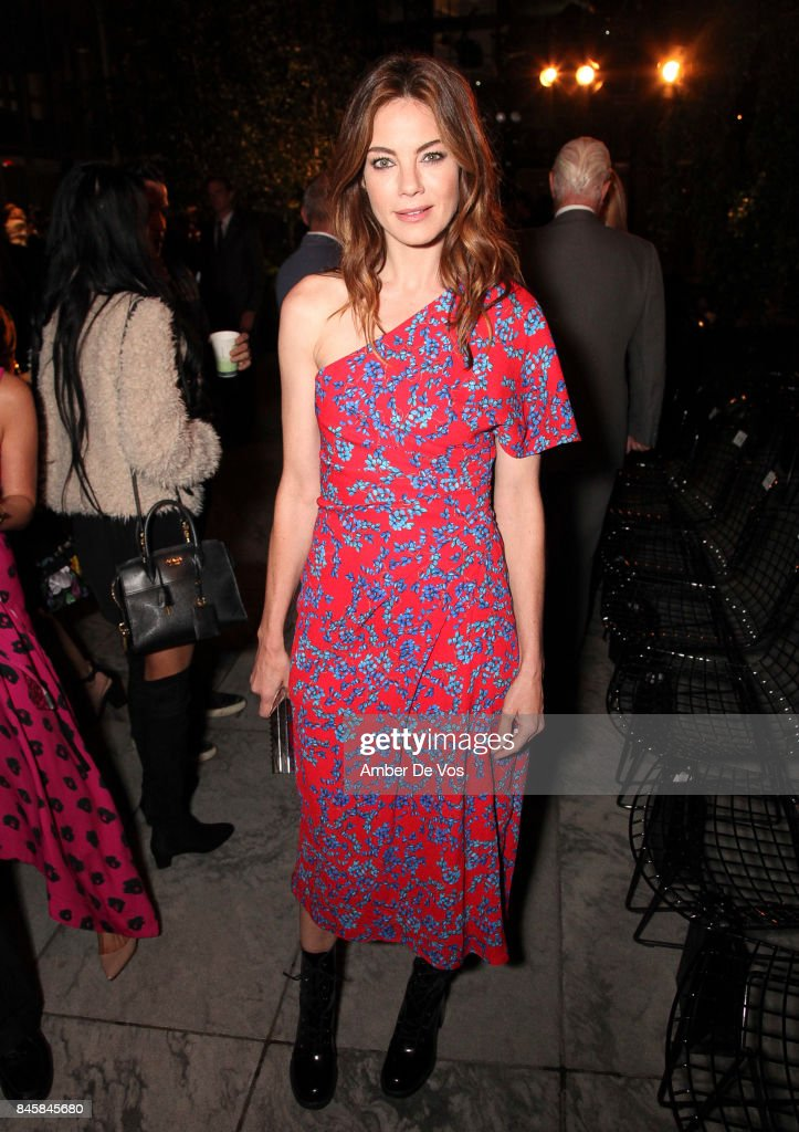 Michelle Monaghan attends the Carolina Herrera show at The Museum of Modern Art on September 11, 2017 in New York City.