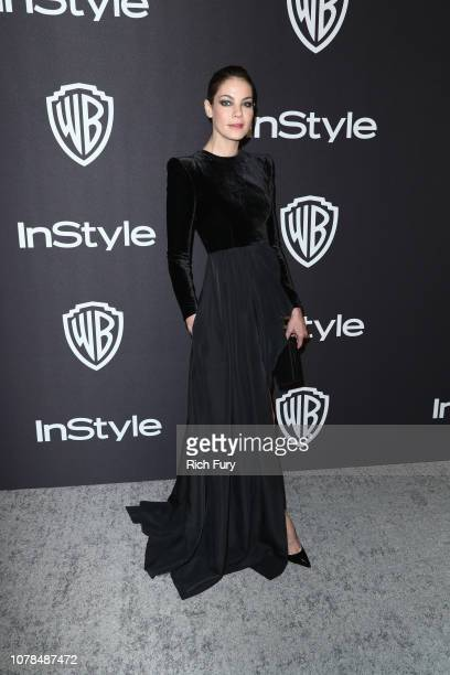 Michelle Monaghan attends the InStyle And Warner Bros Golden Globes After Party 2019 at The Beverly Hilton Hotel on January 6 2019 in Beverly Hills...