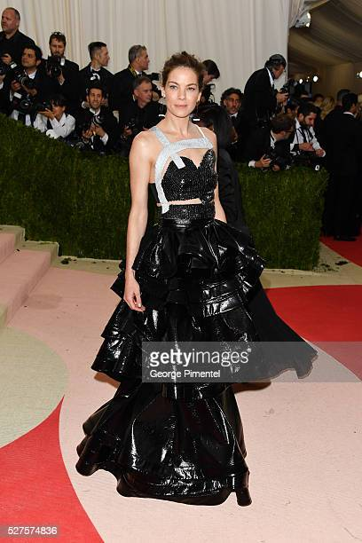 Michelle Monaghan attends the 'Manus x Machina: Fashion in an Age of Technology' Costume Institute Gala at the Metropolitan Museum of Art on May 2,...