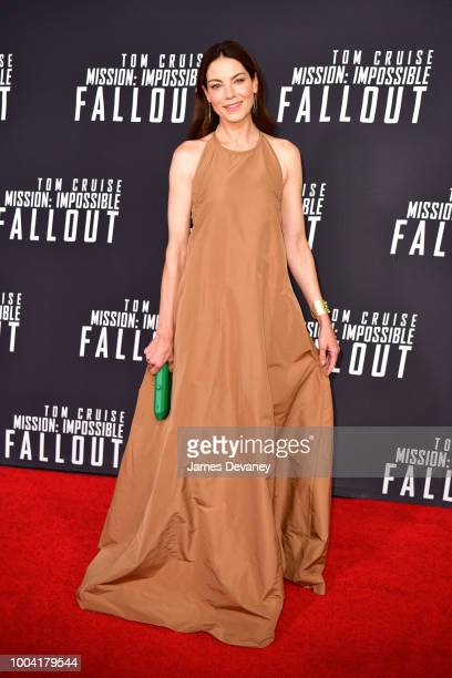 Michelle Monaghan attends the 'Mission Impossible Fallout' US Premiere at Lockheed Martin IMAX Theater at the Smithsonian National Air Space Museum...