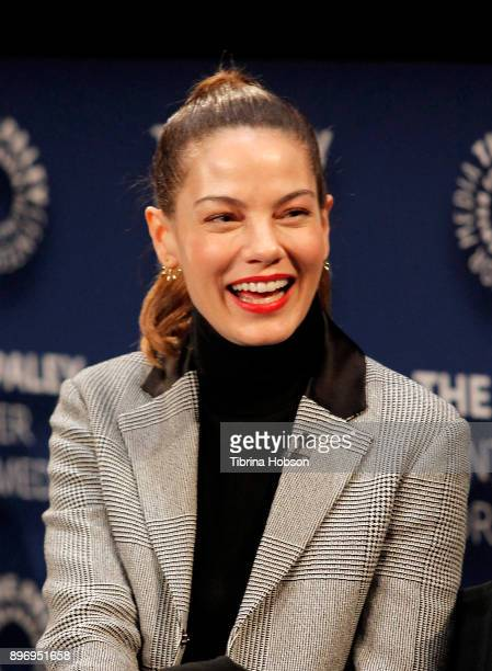 Michelle Monaghan attends the Paley Center for Media's presentation of Hulu's 'The Path' Season 3 premiere QA at The Paley Center for Media on...