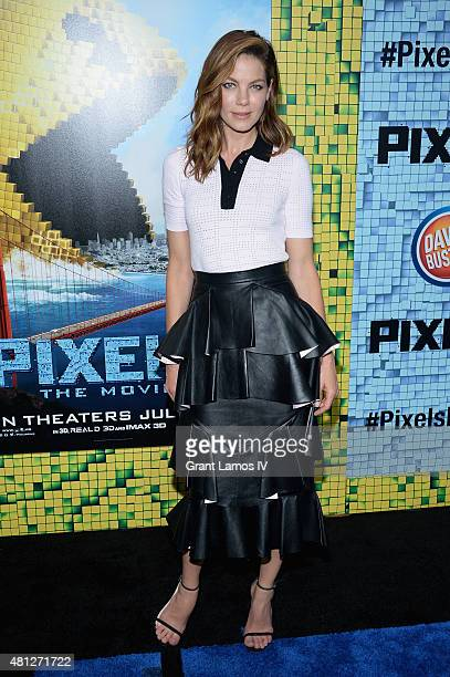 Michelle Monaghan attends the 'Pixels' New York Premiere at Regal EWalk on July 18 2015 in New York City