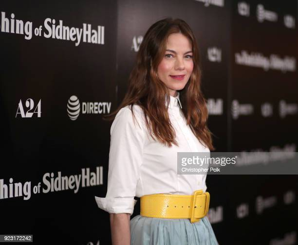 Michelle Monaghan attends the premiere of A24 and DirecTV's 'The Vanishing Of Sidney Hall' at ArcLight Hollywood on February 22 2018 in Hollywood...