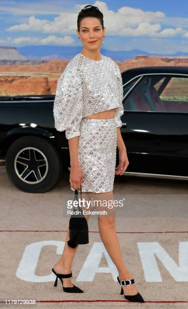"""Michelle Monaghan attends the premiere of Netflix's """"El Camino: A Breaking Bad Movie"""" at Regency Village Theatre on October 07, 2019 in Westwood,..."""
