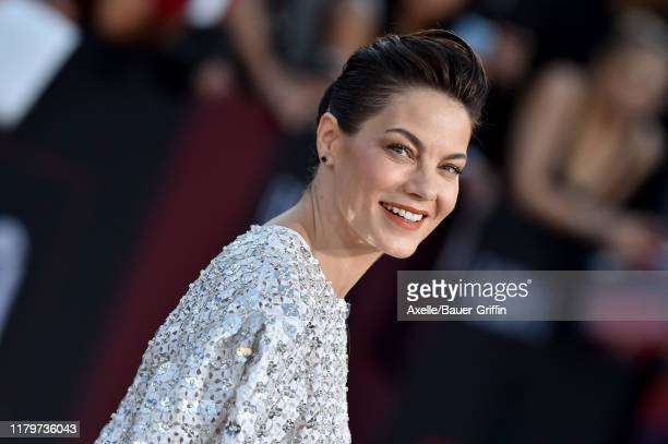 Michelle Monaghan attends the Premiere of Netflix's El Camino A Breaking Bad Movie at Regency Village Theatre on October 07 2019 in Westwood...