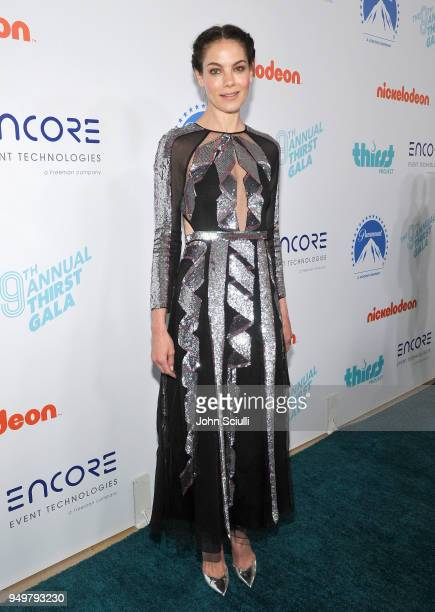 Michelle Monaghan attends The Thirst Project's 9th Annual Thirst Gala at The Beverly Hills Hotel on April 21 2018 in Beverly Hills California