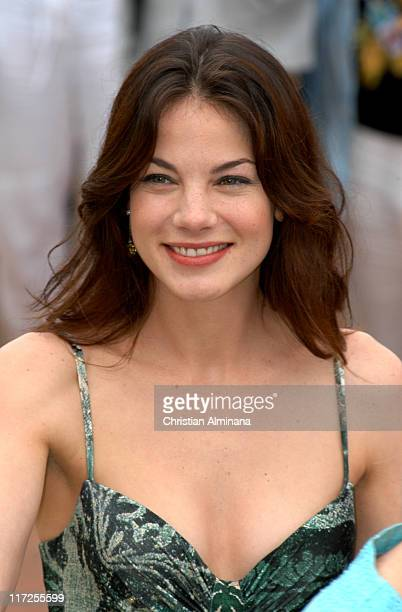 Michelle Monaghan during 2005 Cannes Film Festival Kiss Kiss Bang Bang Photocall at Palais de Festival in Cannes France