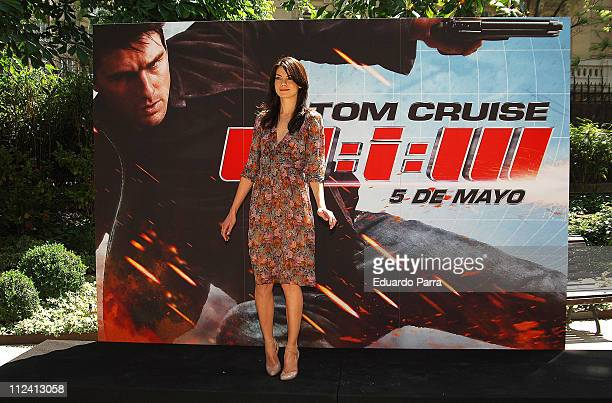 Michelle Monaghan during 'Mission Impossible III' Madrid Photocall April 27 2006 at Santo Mauro Hotel in Madrid Spain