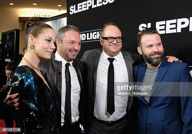 Michelle Monaghan Executive Producer Judd Payne Executive Producer Peter Lawson and Director Baran bo Odar attend the Premiere of Open Road Films'...