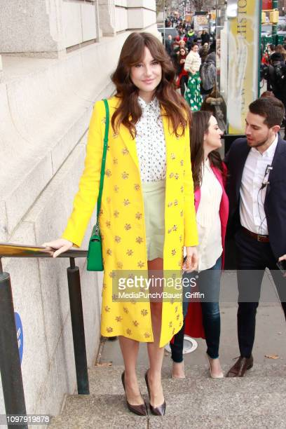 Michelle Monaghan is seen on February 11 2019 in New York City