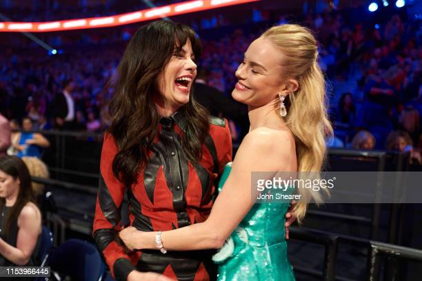 Michelle Monaghan Kate Bosworth attend the 2019 CMT Music Awards at Bridgestone Arena on June 05 2019 in Nashville Tennessee