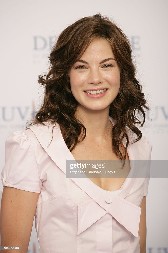 Michelle Monaghan poses at 'Kiss Kiss Bang Bang' photocall during the 31st American Deauville Film Festival.