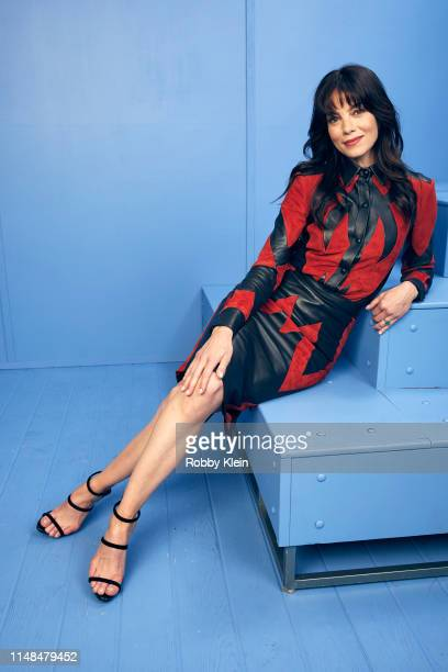 Michelle Monaghan poses for a portrait during the 2019 CMT Music Awards at Bridgestone Arena on June 5 2019 in Nashville Tennessee