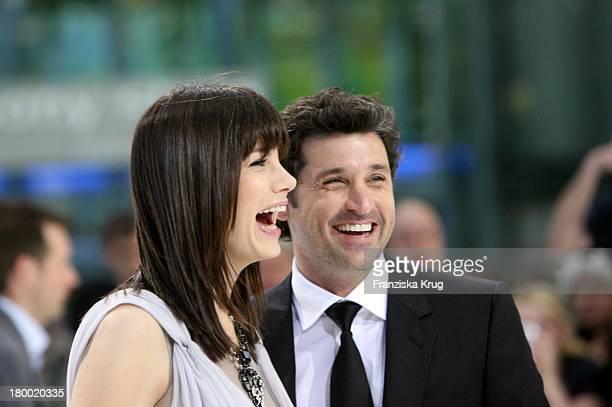 Michelle Monaghan Und Patrick Dempsey Bei Der Premiere Von Verliebt In Die Braut Im Cinestar Am Potsdamer Platz In Berlin Am 130508