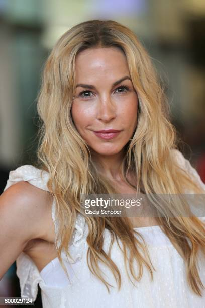 Michelle Monballijn during the opening night of the Munich Film Festival 2017 at Mathaeser Filmpalast on June 22 2017 in Munich Germany