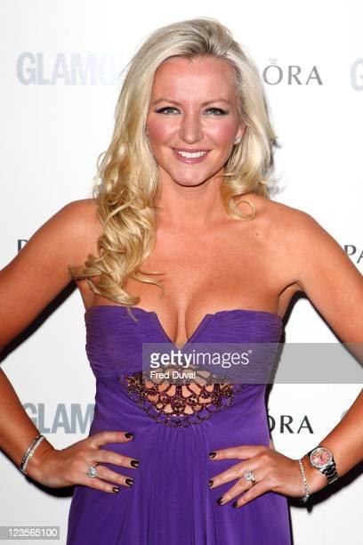 Michelle Mone arrives at the Glamour Women Of The Year Awards at Berkeley Square Gardens on June 7 2011 in London England