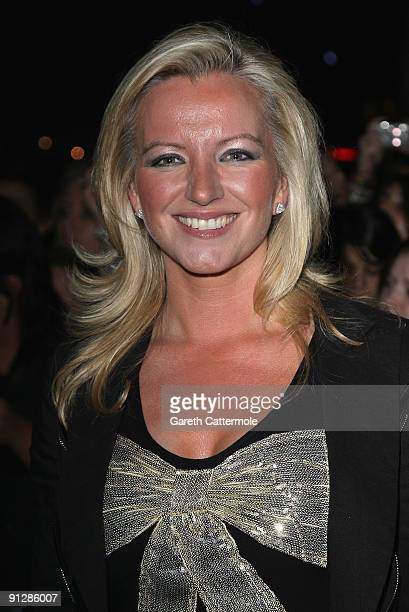 Michelle Mone arrives at the MOBO Awards 2009 held at Glasgow's SECC on September 30 2009 in Glasgow Scotland