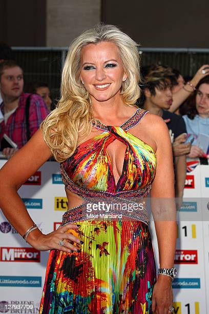 Michelle Mone attends Pride of Britain Awards at Grosvenor House on October 3 2011 in London England