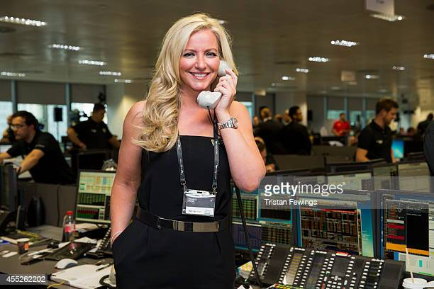 Michelle Mone attends the annual BGC Global Charity Day at BGC Partners on September 11 2014 in London England