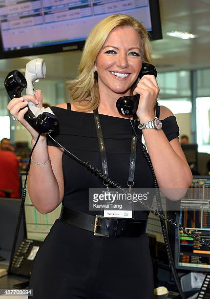 Michelle Mone attends the annual BGC Global Charity Day at BGC Partners on September 11 2015 in London England