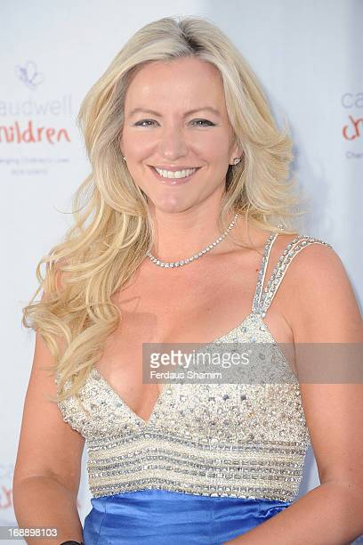 Michelle Mone attends The Butterfly Ball A Sensory Experience in aid of the Caudwell Children's charity at Battersea Evolution on May 16 2013 in...