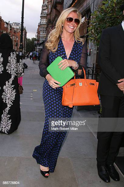 Michelle Mone sighting on August 3 2016 in London England