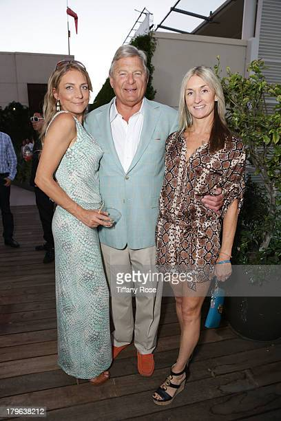 Michelle Montany Charles Ward and Annisa Crawford attend the Auto Gallery Event at the residences at W Hollywood on September 5 2013 in Hollywood...