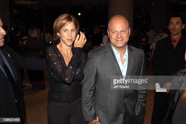 Michelle Moran and Michael Chiklis during The Lili Claire Foundation's 6th Annual Benefit Hosted by Matthew Perry Red Carpet Arrivals at The Beverly...