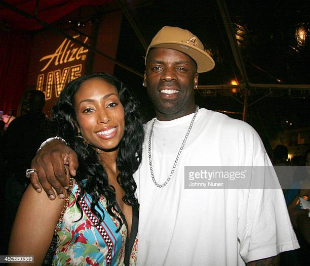 Michelle Murray and TK Kirkland during Wendy Williams Hosts Alize Live South Florida at Revolution in New York City New York United States
